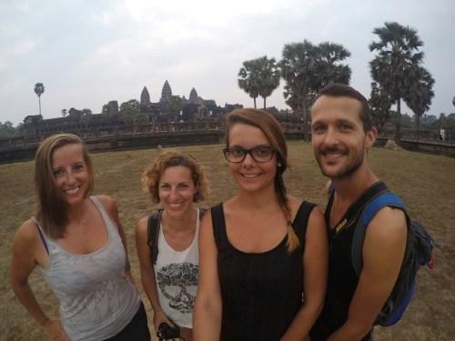 Angkor Vat petit-dejeuner
