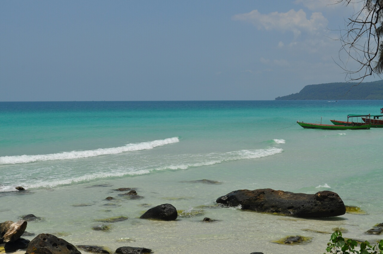 Koh Rong, sable blanc et eau turquoise mais pas que...