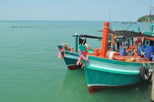 Bateaux Koh Rong