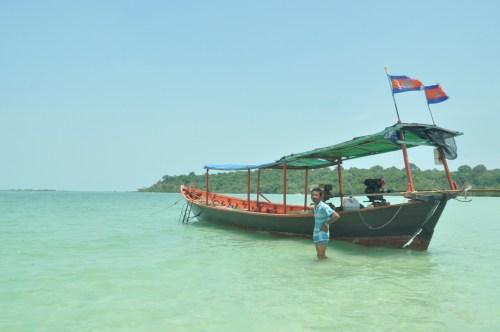 Koh Rong boat driver