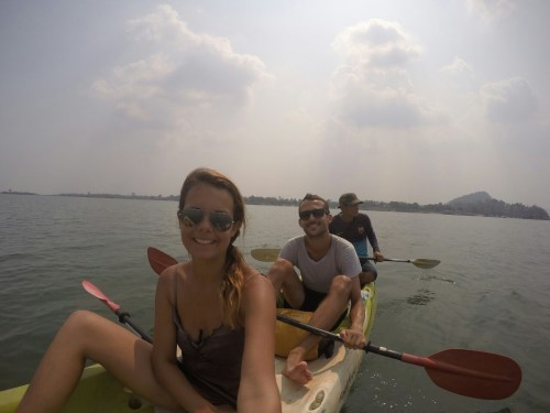 Si Phan Don kayak