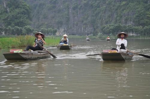 balade bateau Tam Coc 8