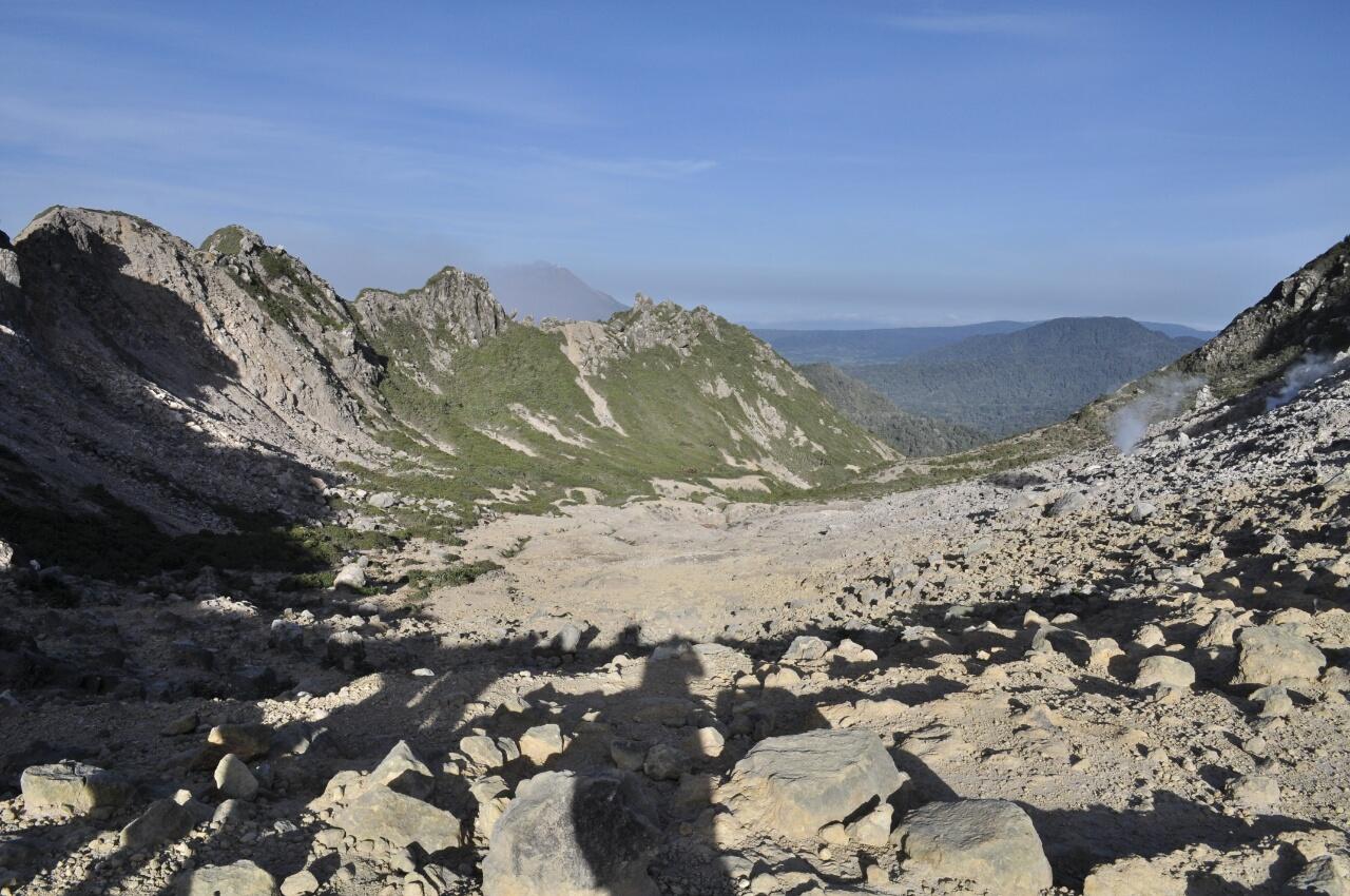 Berastagi : une ascension, deux éruptions et un départ précipité !