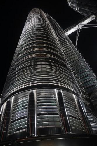 Kuala Lumpur Petronas de nuit 2
