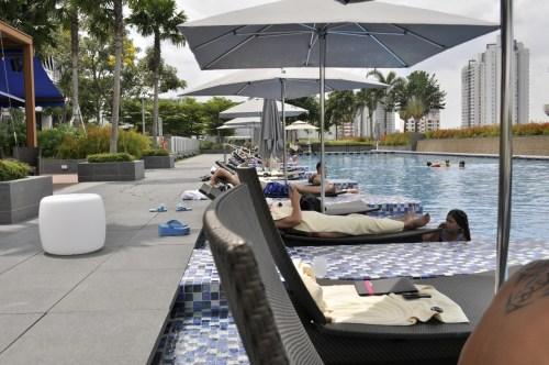 Singapour piscine hotel