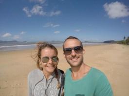 Mission Beach selfie 0730