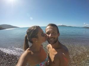 Selfie Coral Bay Airlie Beach 0803