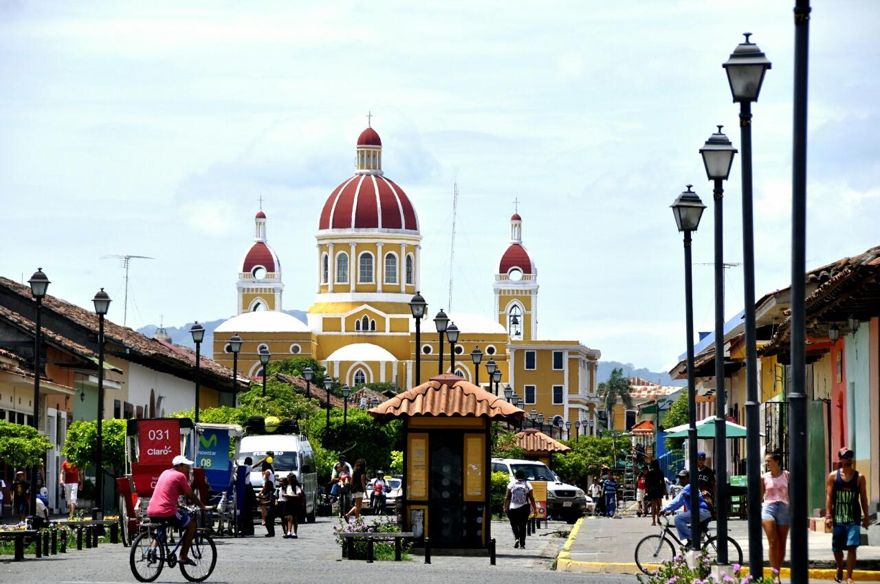 La belle et colorée ville de Granada