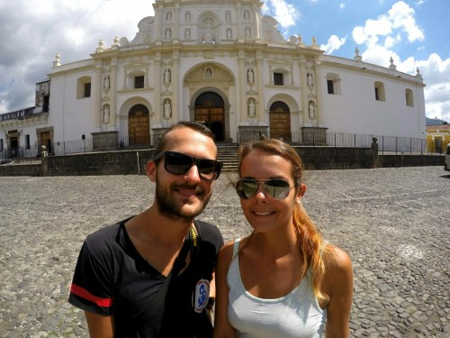 Antigua_selfie-cathedrale