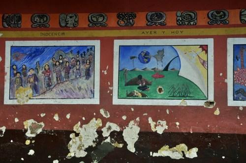 Fresque Chichicastenango 1