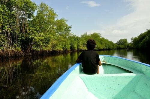 Las Penitas-bateau