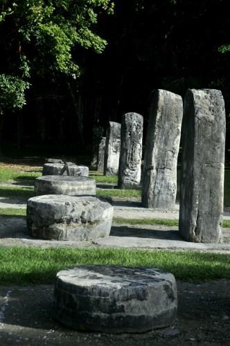Tikal stele complexe Q