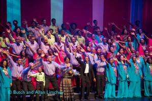 """Curtain call at """"Sing Alleluia"""" (2016)"""