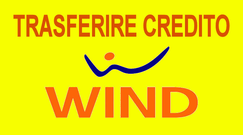 Trasferire Credito da Wind a Wind