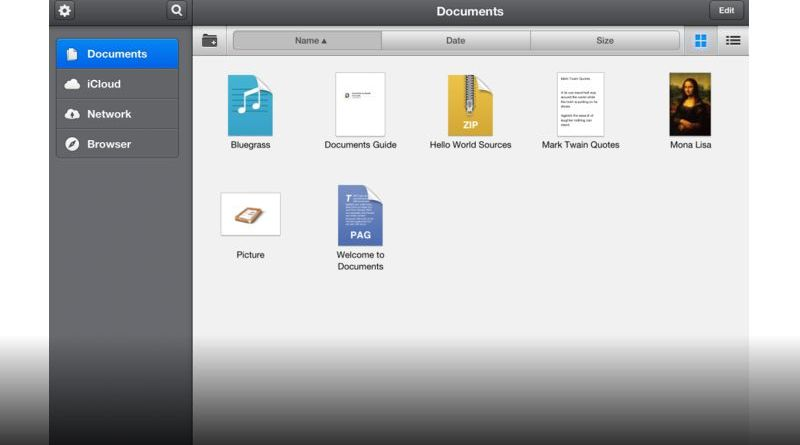 aprire file rar con ipad