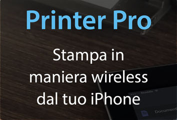 Printer Pro stampare da iPhone wireless