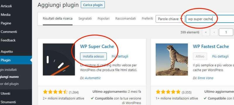 Velocizzare sito WordPress con 2 Plugin