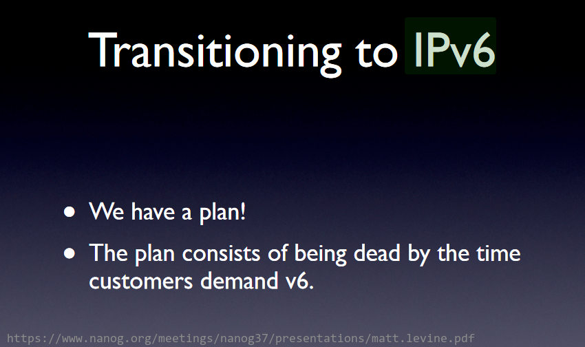 Plano de transição IPv6