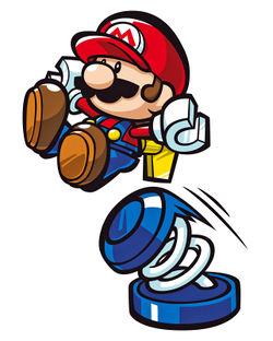 Blue Spring - Super Mario Wiki, the Mario encyclopedia