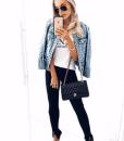 Bianca jaqueta jeans