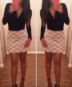 Shorts Saia Rosé