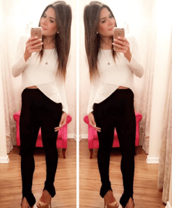 Blusa Transpassada Cropped Mullet - Mariquinha