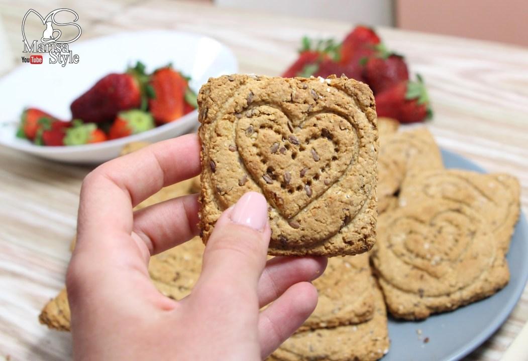 biscotti integrali con farina di avena