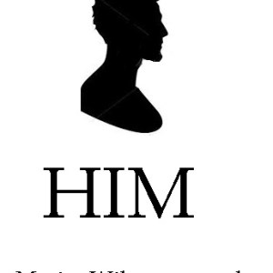 temporary book cover for the novel in progress titled HIM by Marisa Wikramanayake
