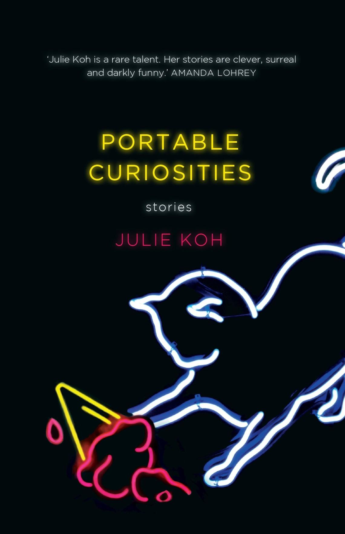 Cover of the book Portable curiosities by Julie Koh