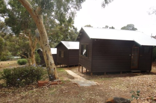 The Writers' Cabins at KSP (c) Writers Bloc