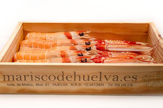 Caja de Cigalas de mariscodehuelva.es