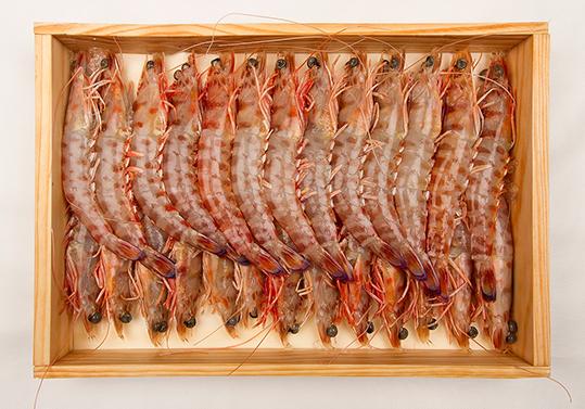Caja de Langostinos de mariscodehuelva.es