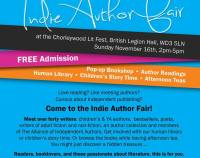 Indie Author Fair Chorleywood Literary Festival