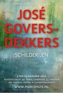 Affiche - José Govers
