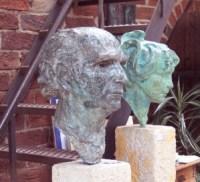 Catnr 195 en ET 1 - Els Tervoort en Busteportret van Jac Maris