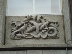 Nijmegen - Burchtstraat (reliëf 3)