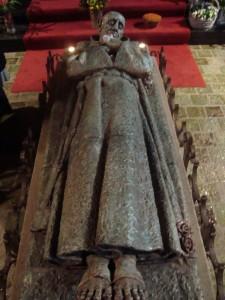 Kapel broeder Everardus - gisant
