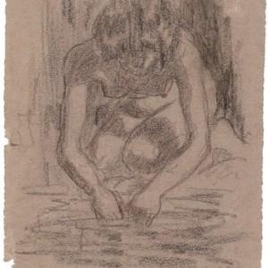 A-028 – Bukkende vrouw potlood 225×130