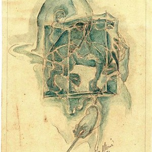 C-031 – 1946 potl aquarel 226×174 sd 1946 IX