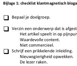 checklist klantmagnetisch blogartikel