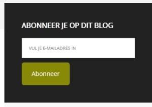 gebruikersvriendelijke blog