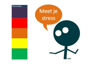 Stress meten met de autisme gevoelsthermometer (werkblad)