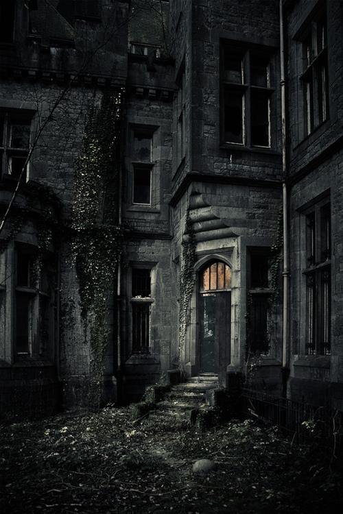 Dark and Ancient Castle, Belgium
