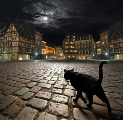 Dark Night, Strasbourg, France
