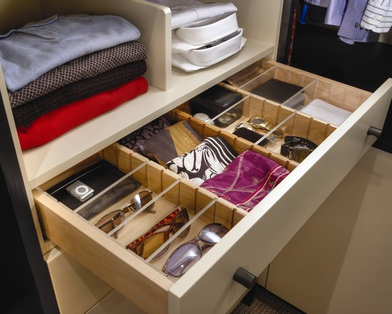 Linear Solutions Closet By Wood Mode (Houston)