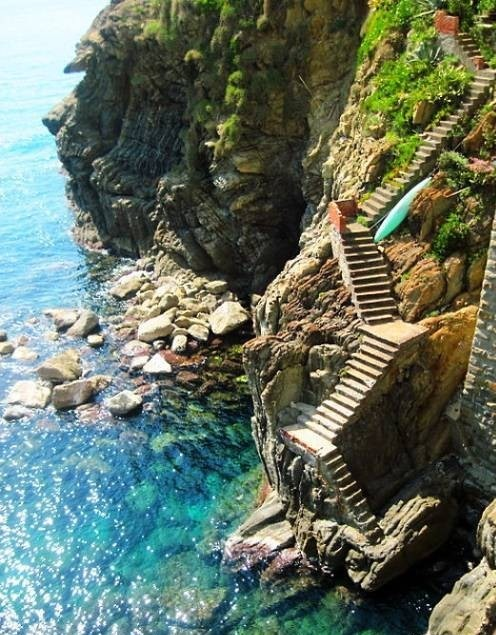 Steps to the Sea, Amalfi Coast, Italy