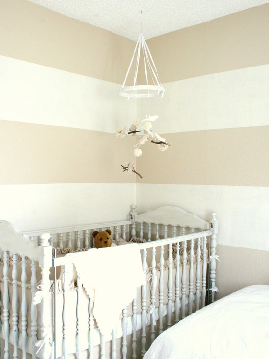 Shades Of White Baby Room (Dallas)