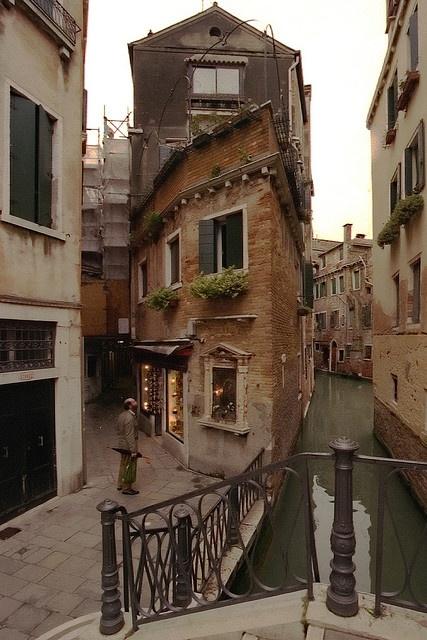 Dusk, Castello, Venice, Italy