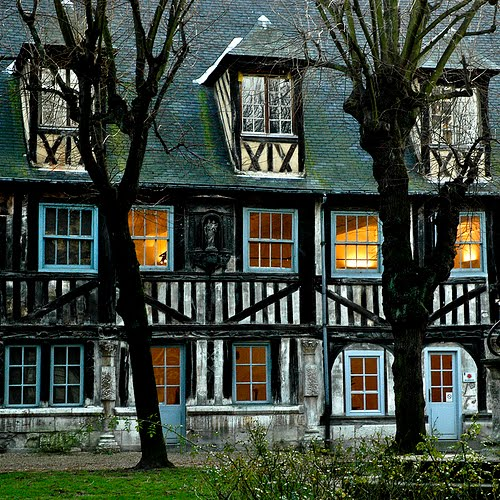 17th Century House, Rouen, France