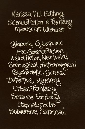 MarissaVU MS Wish List